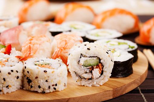 Persimmon「Sushi fuyu」:スマホ壁紙(1)