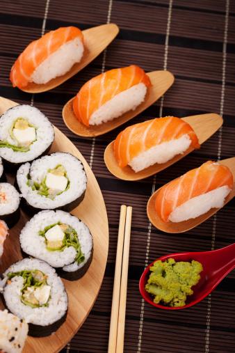 Persimmon「Sushi fuyu」:スマホ壁紙(11)