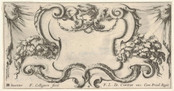 Plate 4: A Cartouche With The Head Of A Cherub At Top Center:ニュース(壁紙.com)