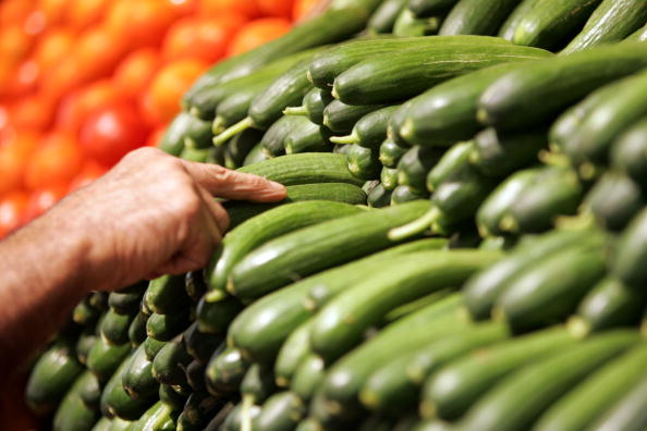 Vegetarian Food「Opening Of The Biggest Organic Supermarket Outside The U.S.」:写真・画像(1)[壁紙.com]