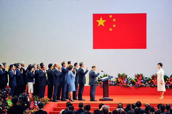 New「Xi Jinping Visits Hong Kong For 20th Anniversary Of The City's Handover」:写真・画像(14)[壁紙.com]