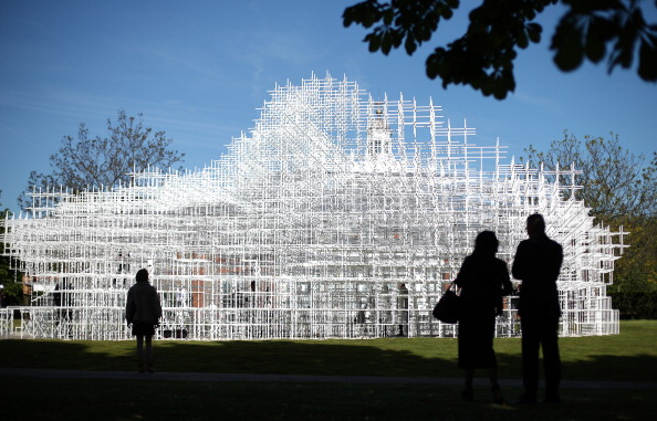 Architecture「Opening Of The Serpentine Gallery Pavilion Designed By Sou Fujimoto」:写真・画像(12)[壁紙.com]