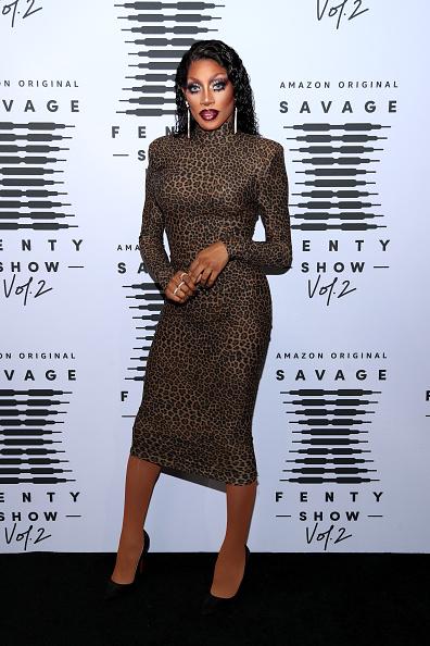 体にぴったりした「Rihanna's Savage X Fenty Show Vol. 2 presented by Amazon Prime Vide – Step and Repeat」:写真・画像(13)[壁紙.com]
