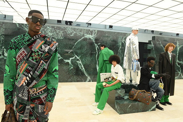 Fashion show「Louis Vuitton : Runway - Paris Fashion Week - Menswear F/W 2021-2022」:写真・画像(6)[壁紙.com]