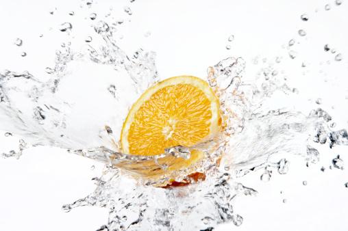 Water「Orange」:スマホ壁紙(14)