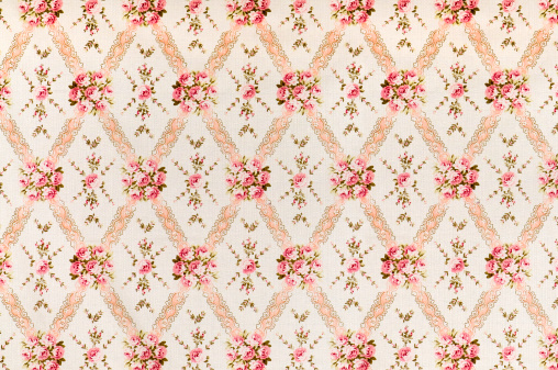 Floral Pattern「Pink Meadow Medium Antique Floral Fabric」:スマホ壁紙(16)
