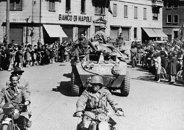 World War II「US Troops in Milan」:写真・画像(16)[壁紙.com]