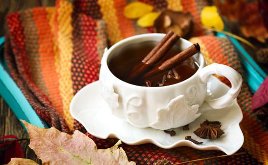 Star Anise「Herbal tea with cinnamon, star anise and cloves」:スマホ壁紙(0)