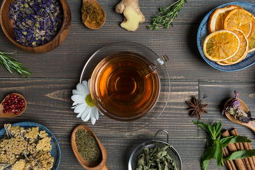 Ginger - Spice「Herbal Tea」:スマホ壁紙(2)