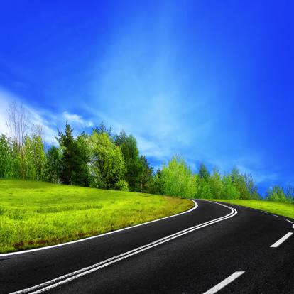 Motor Racing Track「Mountain road」:スマホ壁紙(8)
