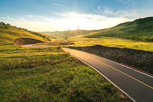 Winding Road「Mountain Road」:スマホ壁紙(2)