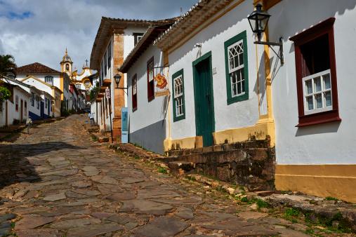 Paving Stone「Tiradentes village, Minas Gerais, Brazil」:スマホ壁紙(1)