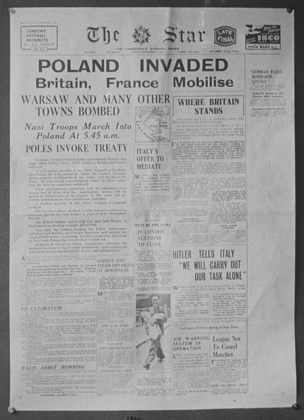 World War II「Poland Invaded」:写真・画像(17)[壁紙.com]