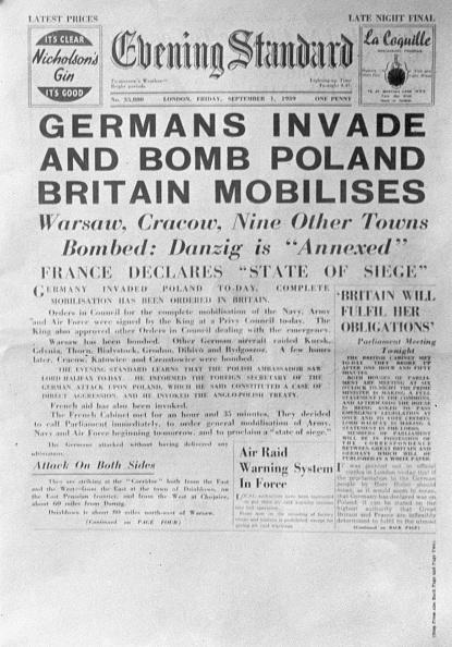 Evening Standard「Blitzkrieg In Poland」:写真・画像(1)[壁紙.com]
