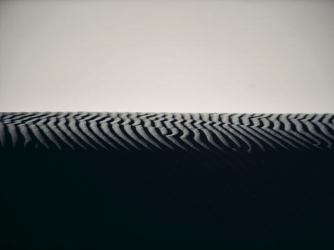 Wave「砂丘パターン」:スマホ壁紙(9)