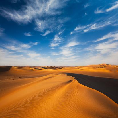 砂漠「砂丘」:スマホ壁紙(2)