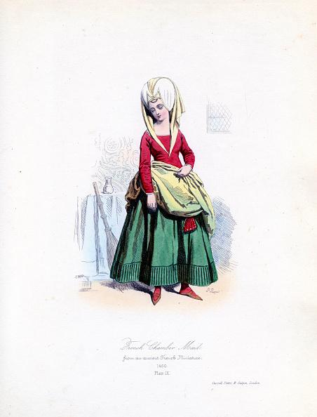 Circa 15th Century「French chamber maid, 1460」:写真・画像(19)[壁紙.com]