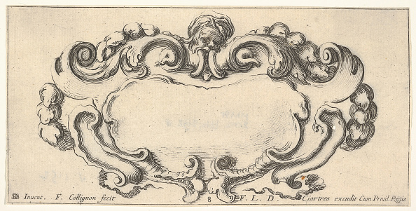 Copy Space「Plate 8: A Cartouche With The Head Of An Old Man At Top Center」:写真・画像(4)[壁紙.com]