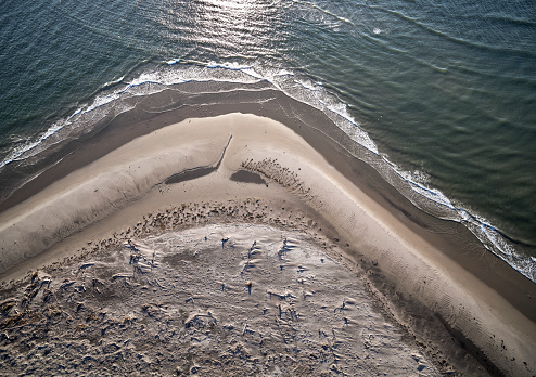 The Nature Conservancy「USA, Virginia, Aerial view of Virginia Coast Reserve, Atlantic Ocean, beach」:スマホ壁紙(14)