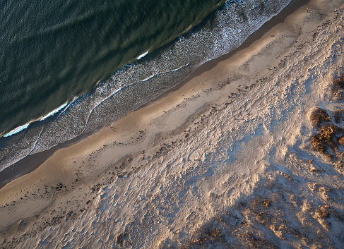 The Nature Conservancy「USA, Virginia, Aerial view of Virginia Coast Reserve, Atlantic Ocean, beach」:スマホ壁紙(18)