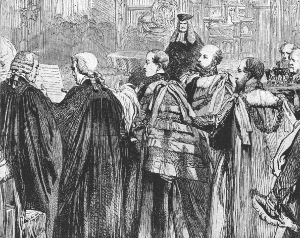 First Occurrence「The Prince Of Wales Taking His Seat For The First Time In The House Of Lords1863」:写真・画像(12)[壁紙.com]