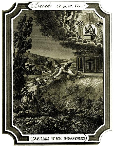 T 「The prophet Isaiah is cleansed」:写真・画像(1)[壁紙.com]