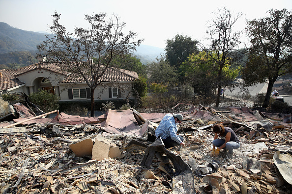 Environmental Damage「At Least 11 Dead As Multiple Wildfires Burn Through California Wine Country」:写真・画像(18)[壁紙.com]