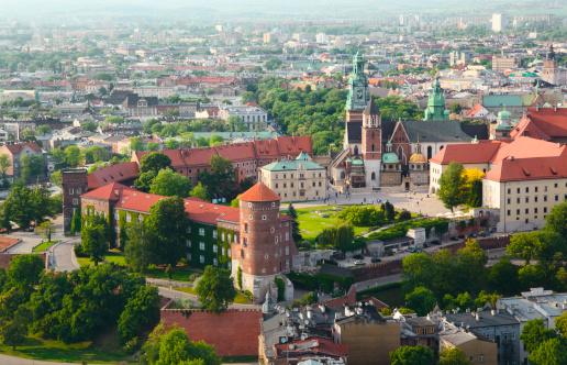Gothic Style「Wawel Castle in Krakow, Poland」:スマホ壁紙(3)