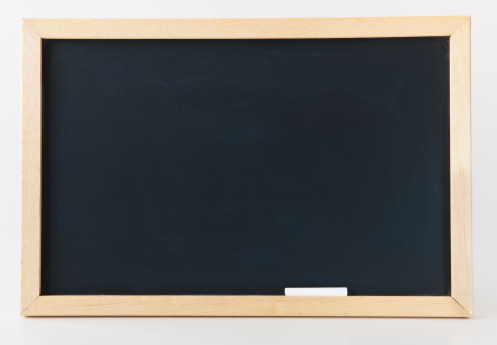 Chalk - Art Equipment「Empty blackboard, studio shot」:スマホ壁紙(7)