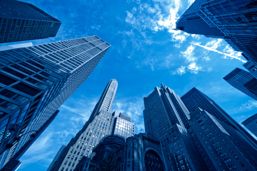 Park Avenue「manhattan skyscraper group of office buildings」:スマホ壁紙(12)