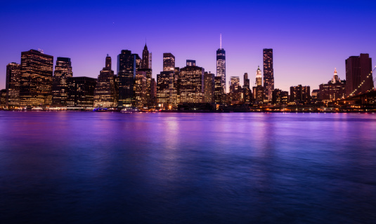 United Nations Building「Manhattan skyline」:スマホ壁紙(16)
