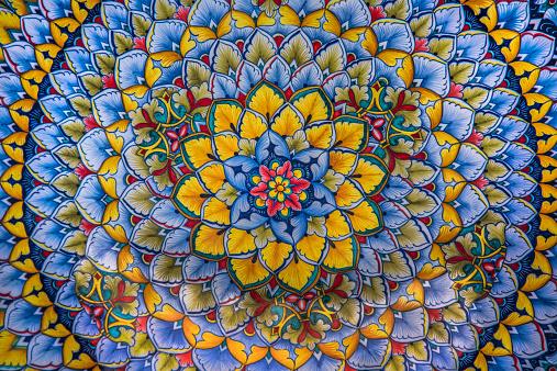 Floral Pattern「Local ceramic model, Italy」:スマホ壁紙(18)