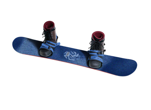 スノーボード「Snowboard and Boots」:スマホ壁紙(0)