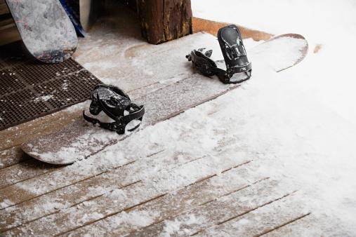 スノーボード「スノーボード&スノー」:スマホ壁紙(10)