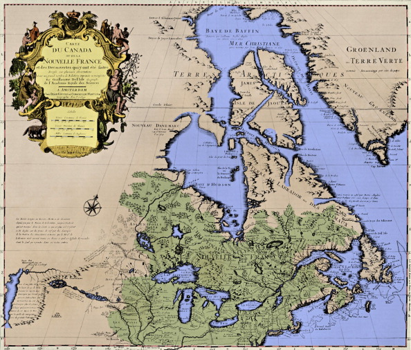 North America「Map of Canada ('New France')」:写真・画像(18)[壁紙.com]