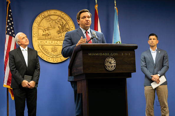 Season「Florida Governor DeSantis And Government Officials Give Hurricane Season Update At Miami-Dade Emergency Operations Center」:写真・画像(10)[壁紙.com]
