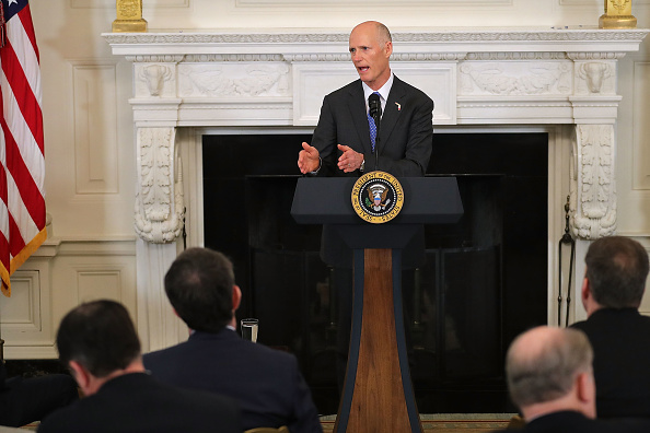 Florida - US State「President Trump Holds White House Business Session With U.S. Governors」:写真・画像(18)[壁紙.com]