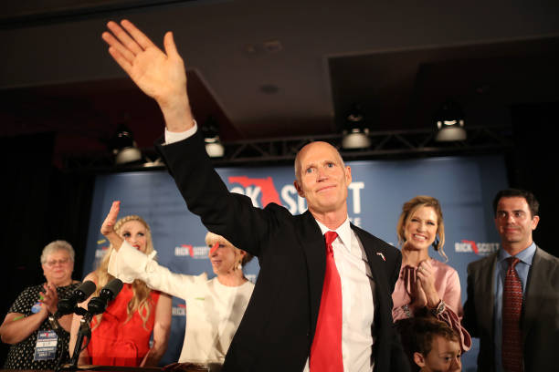 Florida Senate Candidate Rick Scott Attends Election Night Event In Naples:ニュース(壁紙.com)