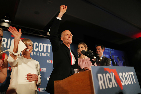 Naples - Florida「Florida Senate Candidate Rick Scott Attends Election Night Event In Naples」:写真・画像(8)[壁紙.com]