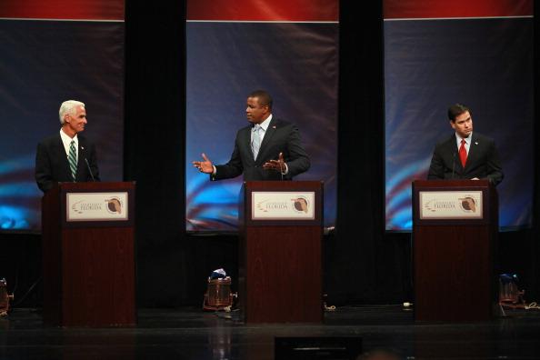 Florida - US State「Meek, Crist And Rubio Spar In Debate」:写真・画像(16)[壁紙.com]