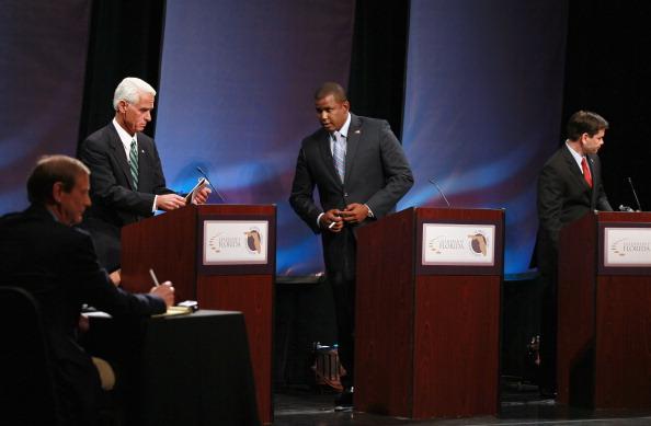 Florida - US State「Meek, Crist And Rubio Spar In Debate」:写真・画像(19)[壁紙.com]