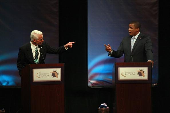 Florida - US State「Meek, Crist And Rubio Spar In Debate」:写真・画像(15)[壁紙.com]
