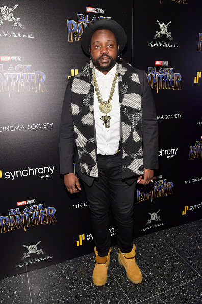"Suede Shoe「The Cinema Society Hosts A Screening Of Marvel Studios' ""Black Panther""」:写真・画像(10)[壁紙.com]"