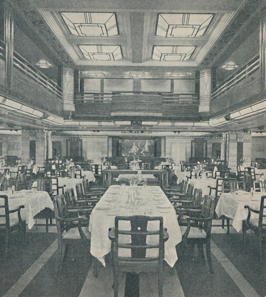 Ceiling「First-Class Dining Saloon In The Queen Of Bermuda」:写真・画像(4)[壁紙.com]