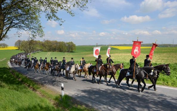 Heritage Images「Sorbian Easter Riders Herald Christ's Resurrection」:写真・画像(2)[壁紙.com]