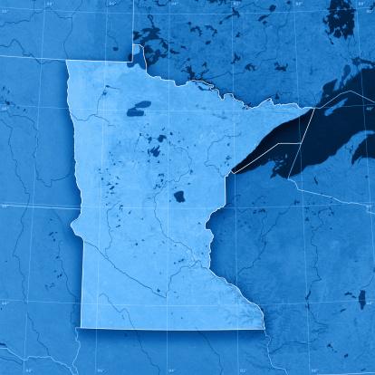 Great Lakes「Minnesota Topographic Map」:スマホ壁紙(14)
