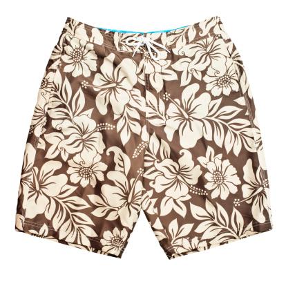 Floral Pattern「Men's floral pattern swim shorts」:スマホ壁紙(15)