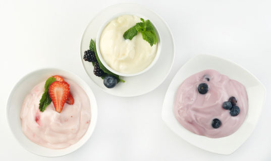 Mint Leaf - Culinary「Three Kinds of Yogurt」:スマホ壁紙(13)