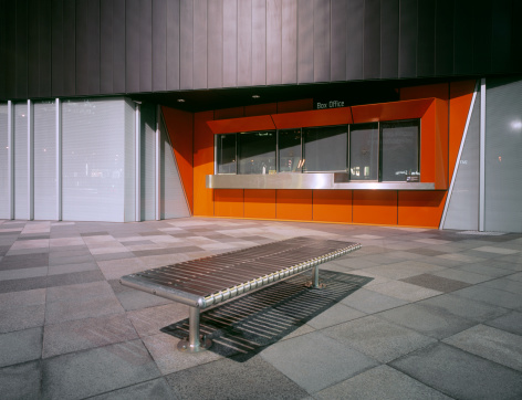 Bank Counter「Closed box office」:スマホ壁紙(4)