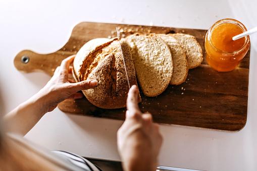 Snack「Bread and jam」:スマホ壁紙(15)